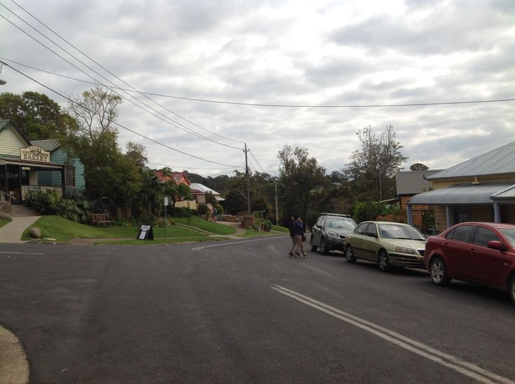 Central Tilba, which is a heritage historic one street village, where we stayed at a farm cottage nearby.