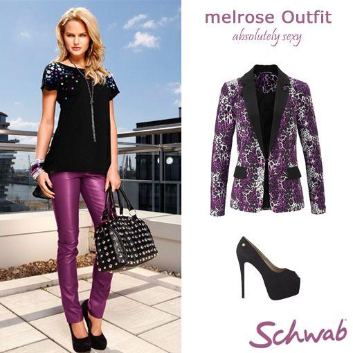 Mit dem farbenfrohen #Melrose #Outfit fallt Ihr auf jeden Fall auf!
