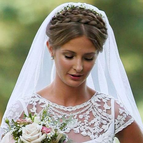 Steal Millie Mackintosh's bridal hair