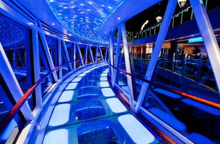 Stroll on our glass-floor SeaWalk, 128 feet above the sea aboard Regal Princess and Royal Princess. #princess #bucketlist