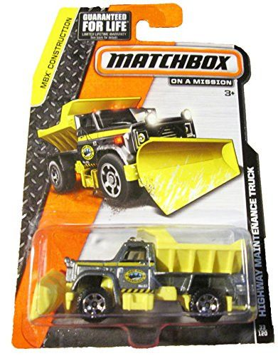Matchbox - MBX Construction 33/120 - Highway Maintenance Truck
