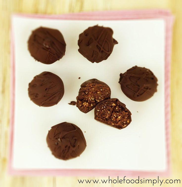 Mix and Make Choc Almond Truffles