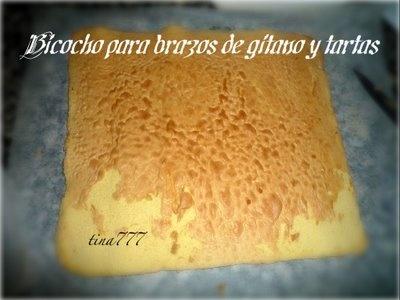 Receta Bizcocho base para brazos de gitano y tartas para A el rincón de cocinar - Petit Chef