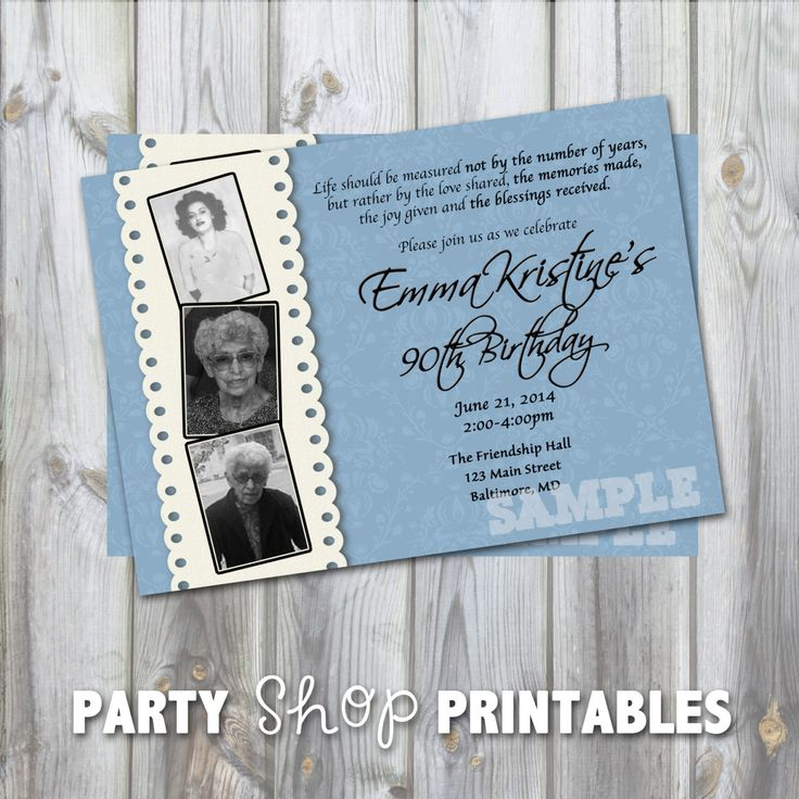 7 best 95 birthday images on Pinterest Birthday party ideas - best of invitation text to birthday party