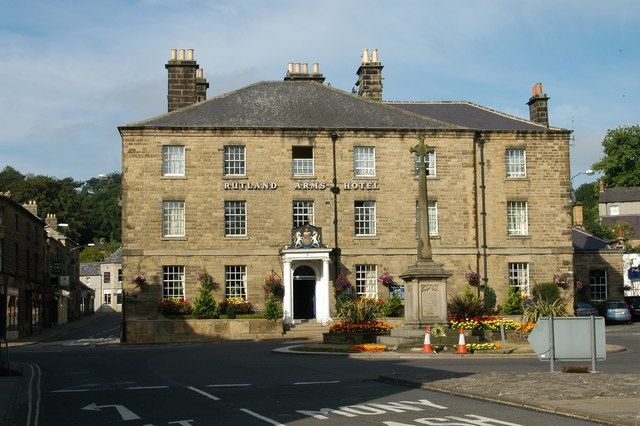 Stay in the hotel that claims to be the birthplace of the infamous Bakewell Pudding, the grand Rutland Arms Hotel