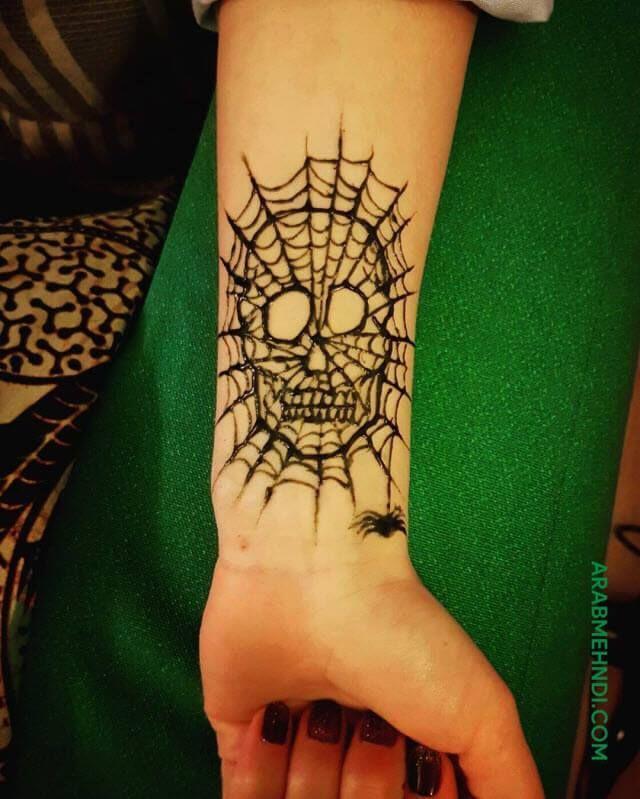50 Halloween Mehndi Design Henna Design August 2019 Mehndi Designs Mehndi Henna Designs
