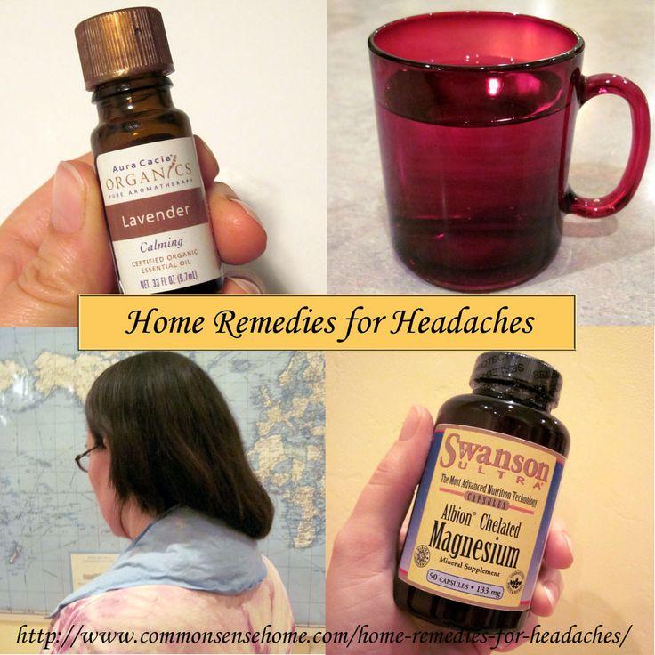 9 Home Remedies For Headaches