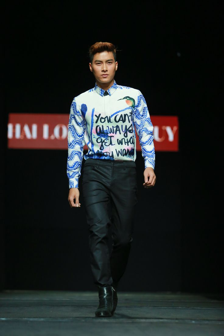 Vietnam Fashion Week FW15 - Ready to wear. Designer: Hai Long - The Huy. Photo: Thanh Dat