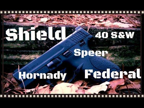 Smith & Wesson M&P Shield 40 S&W Short Barrel Ammo Gel Test (HD) - http://fotar15.com/smith-wesson-mp-shield-40-sw-short-barrel-ammo-gel-test-hd/