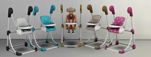 Toddler Bounce Chair for The Sims 4