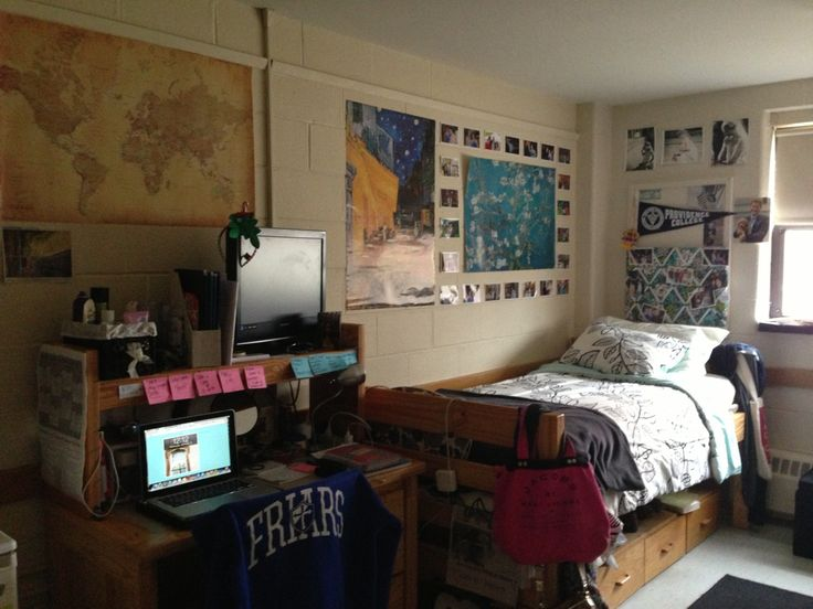 College Dorm. Thinking About Setting My New Room Up This Way This Semester  :) Part 52