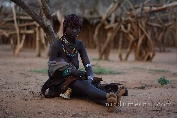 Hamer tribe, Omo Valley, Ethiopia, Africa.  More at www.nicdumesnil.com