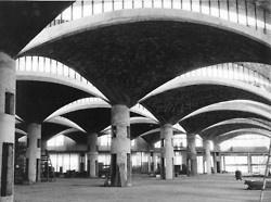 Construction of the Olivetti factory, São Paulo, Marco Zanuso, 1957-59