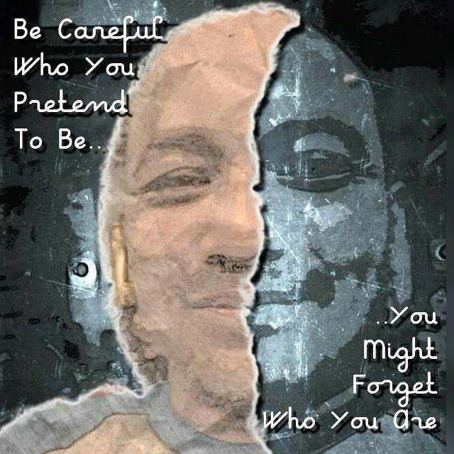 #inspirationalquotes #mask #beyourself