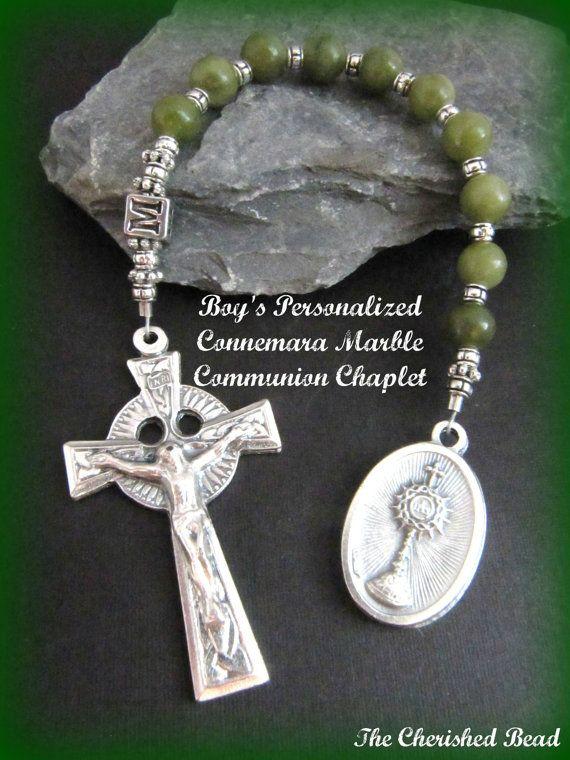 Irish Boy's Personalized First Communion by TheCherishedBead, $32.00