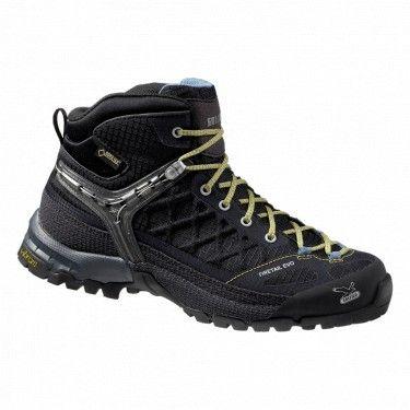 SALEWA Buty damskie WS FIRETAIL EVO MID GTX WS Firetail EVO MIDGTX to najnowsza propozycja rewelacyjnych wysokich butów damskich marki SALEWA. Przedłużone sznurowanie oraz wkładka multi-fit daje najlepsze z możliwych opcji dopasowania. #buty #góry