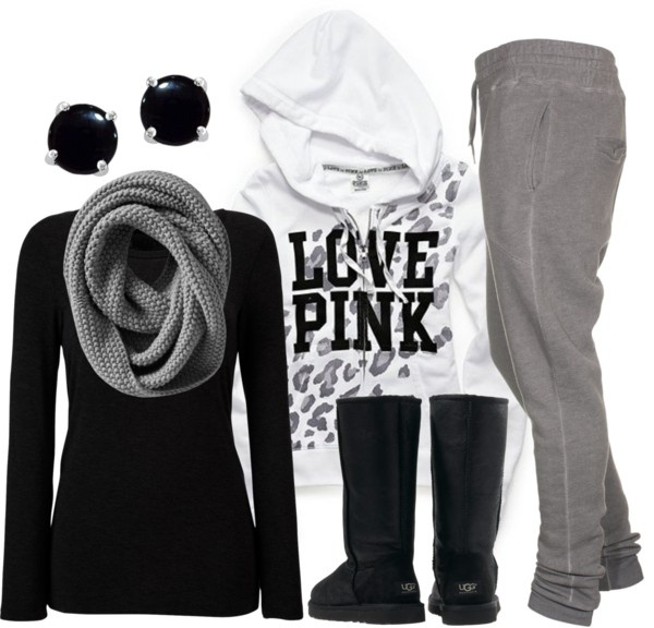 """Bundled & Bummin' It"" by qtpiekelso on Polyvore"