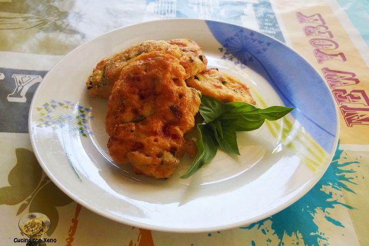 Cucina con Xeno: Frittelle di zucchine