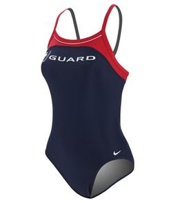 Nike Swim Lifeguard Classic Lingerie Tank at SwimOutlet.com - Free Shipping