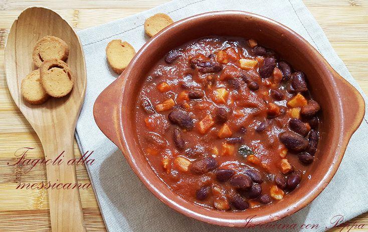 I fagioli alla messicana sono conosciutissimi ovunque; esistono diverse preprazioni; io li preparo con pancetta affumicata o salsiccia. Semplice e veloce...