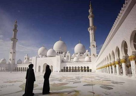 Большая белая мечеть,Абу-Даби,ОАЭ