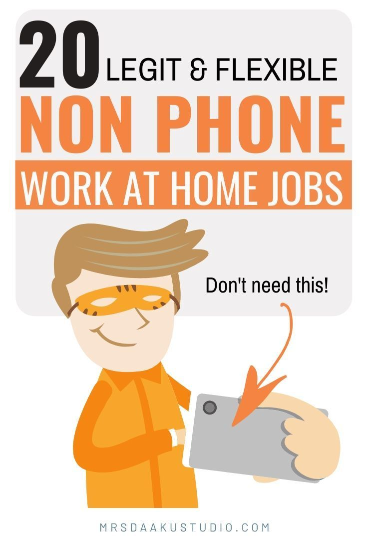 50 Non Phone Work From Home Jobs Hiring Right Now 1 Is A