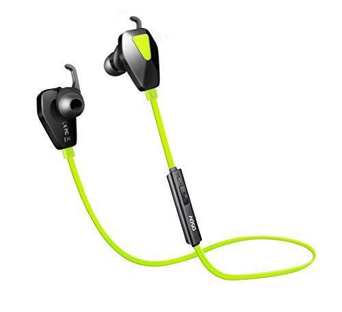 AOSO G13 Oreillette Bluetooth 4.1 Stéréo Casque Sans Fil Bluetooth Sport Ecouteurs Bluetooth Oreillette Exercice avec 6 Heurs Autonomie…