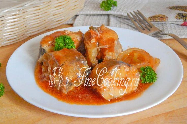 Рыба в томате в мультиварке - рецепт с фото