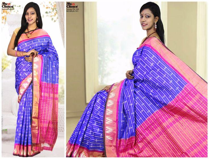 Blue Color Rajkot Saree