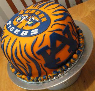 Sweet Cakes DC: Auburn University Cake