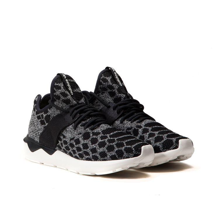 Adidas Tubular Runner Primeknit (Core Black / Carbon) B25573 | Allike Store Hamburg