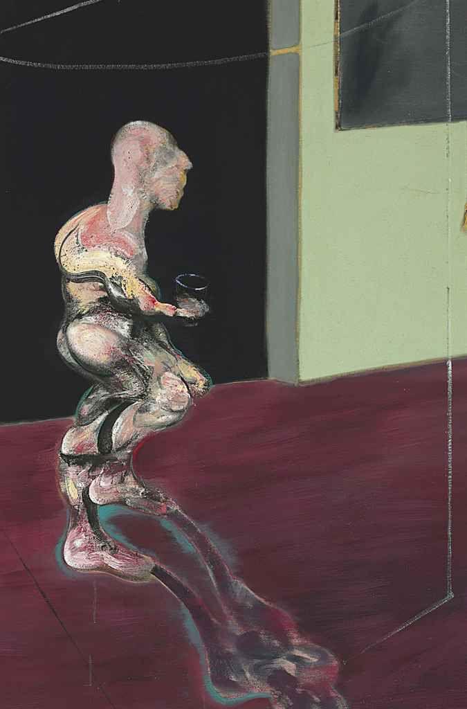 Francis Bacon.  Figure Turning.