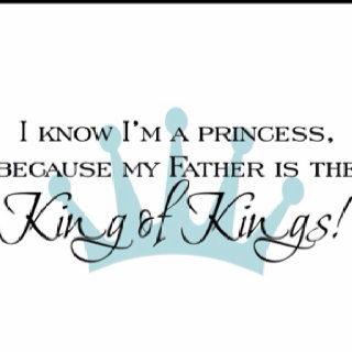 Daughter of the King!