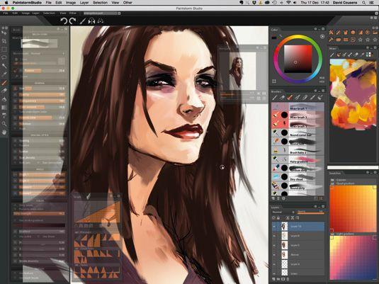 Review: Paintstorm Studio 1.5   Software #saas