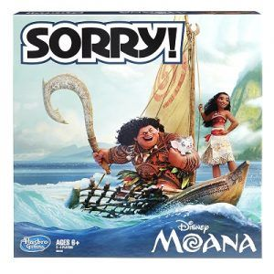 Moana Sorry Board Game