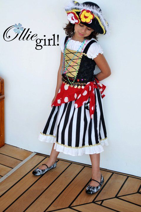 Red Pirate Princess by Ollie Girl!