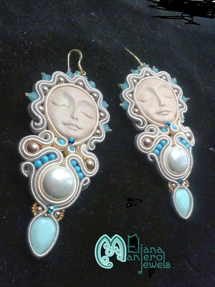 Le stelle di Eli: Serendipity orecchini soutache - #beads #pearls #soutache