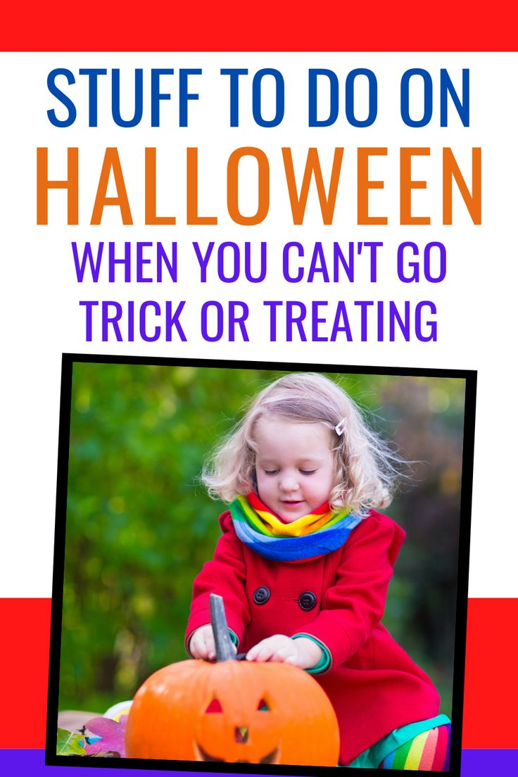 Super Fun Alternatives to TrickorTreating Healthy