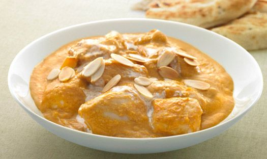 Nutty King Prawn Korma