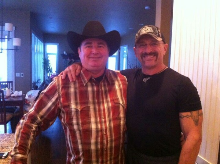 My Dad and Olda. Such Cowboys at heart :)
