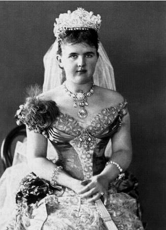 HM Queen Emma of the Netherlands (1858–1879) née Her Serene Highness Princess Emma of Waldeck and Pyrmont
