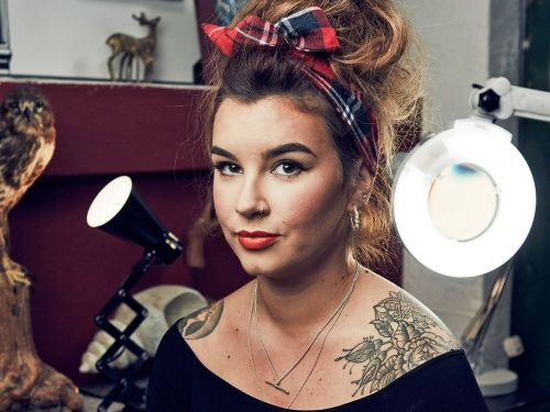 We're really proud of BA (Hons) Fine Art Graduate Alice Perrin, who has joined the team on E4's Tattoo Fixers. Alice began working at Dermagraphica whilst studying here at HCA with us, and she still works at the Leominster studio.   Check out her interview with the Hereford Times too, about how she came to appear on the show: http://www.herefordtimes.com/news/14158272.Hereford_tattoo_artist_to_appear_on_E4_s_Tattoo_Fixers/