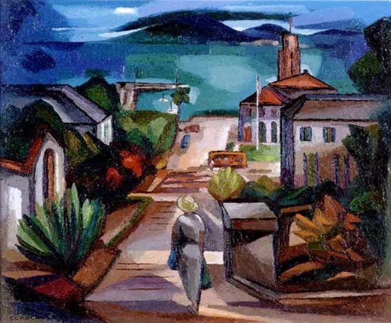 Bridgetown Harbor, Barbados by Francis Coradal-Cugat