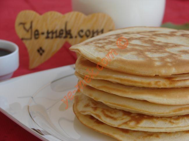 Pancake (Pankek) Resimli Tarifi - Yemek Tarifleri