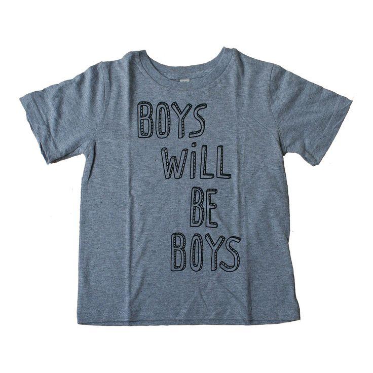 SOYA & SODA t-shirt (boys will be boys)