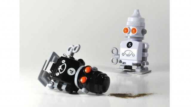 23 best images about geeky gifts on pinterest geek gifts Salt and pepper robots