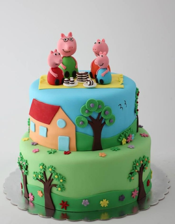 Pepa the pig cake by BioLed