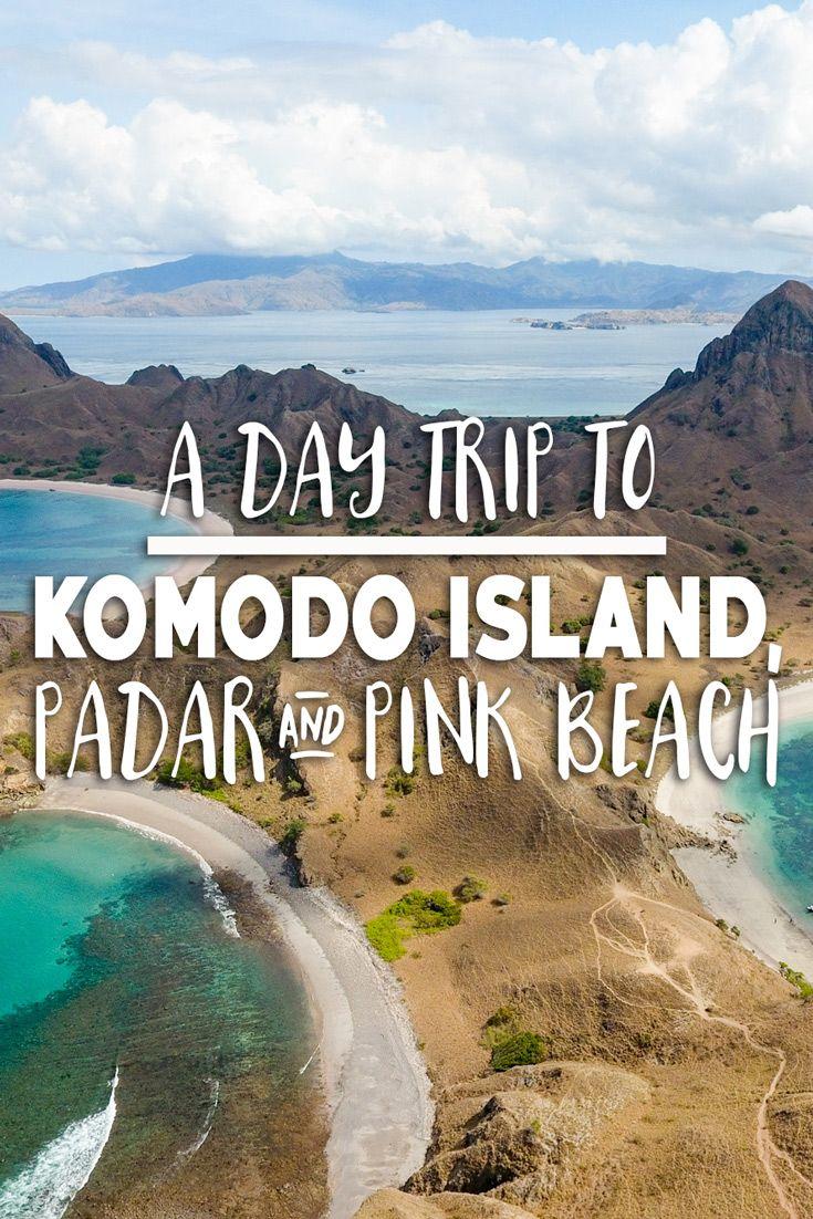 A Day Trip to Komodo Island, Padar and Pink Beach