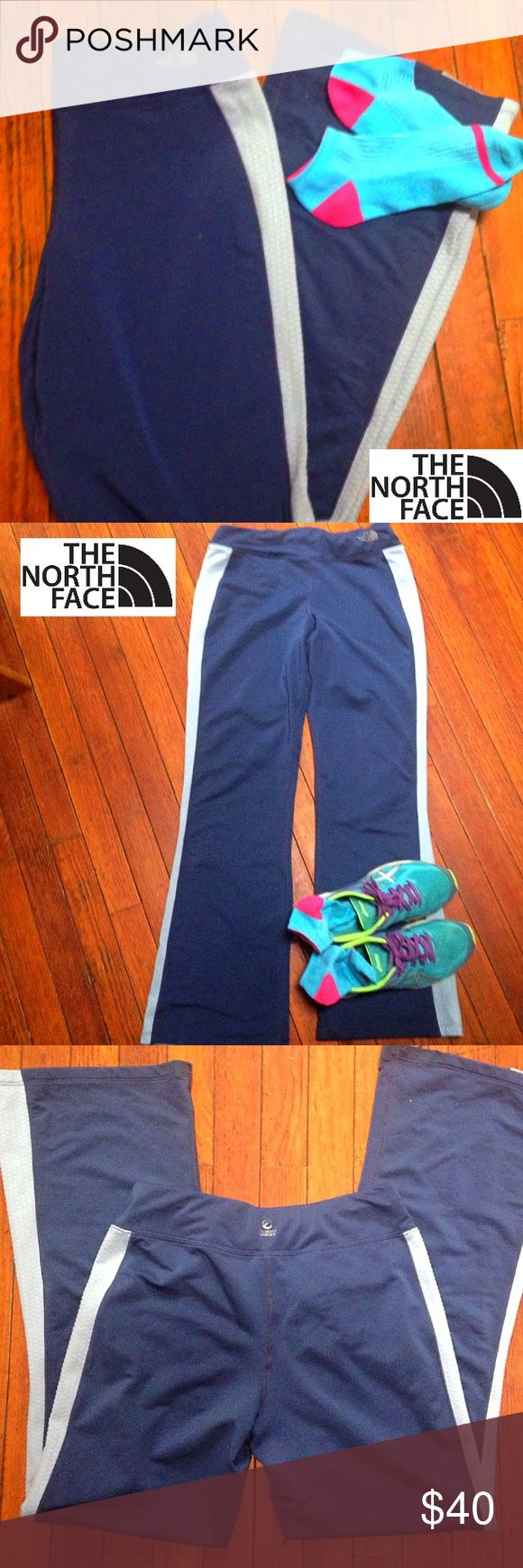 Women's size small The North Face Active Pants Flight series blue active poly/spandex pants by The North Face. Women's size small. Excellent condition. The North Face Jackets & Coats