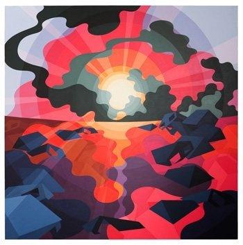"Eske Kath. ""Red Horizon"" 2010"